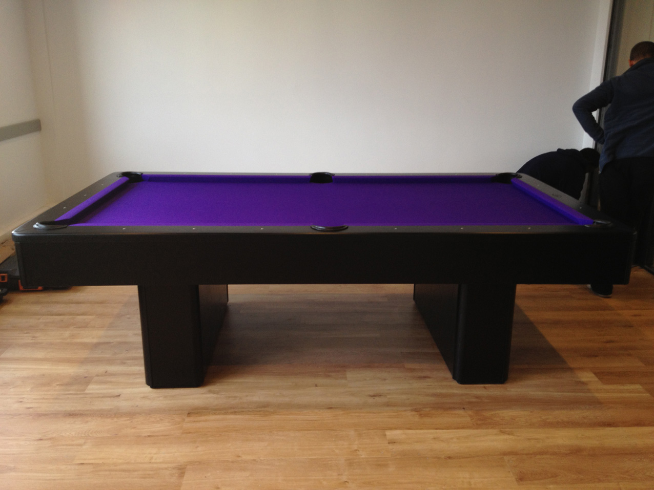 Olhausen Monarch Pool Table In Black American Pool Table - American pool table company