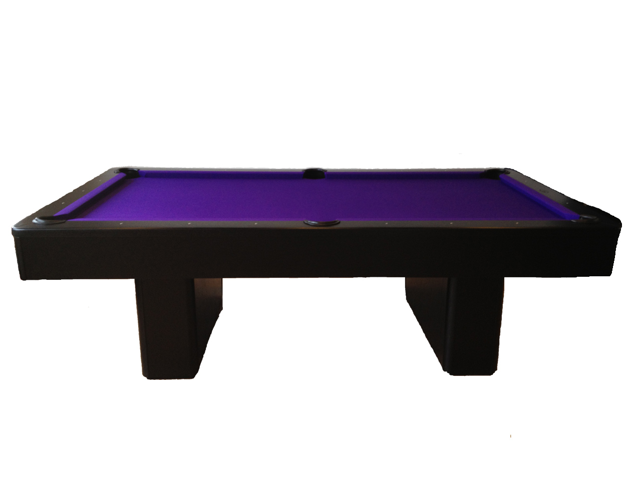 Olhausen Pool Table Pockets Olhausen Monarch in Black - Snooker & Pool Table Company Ltd