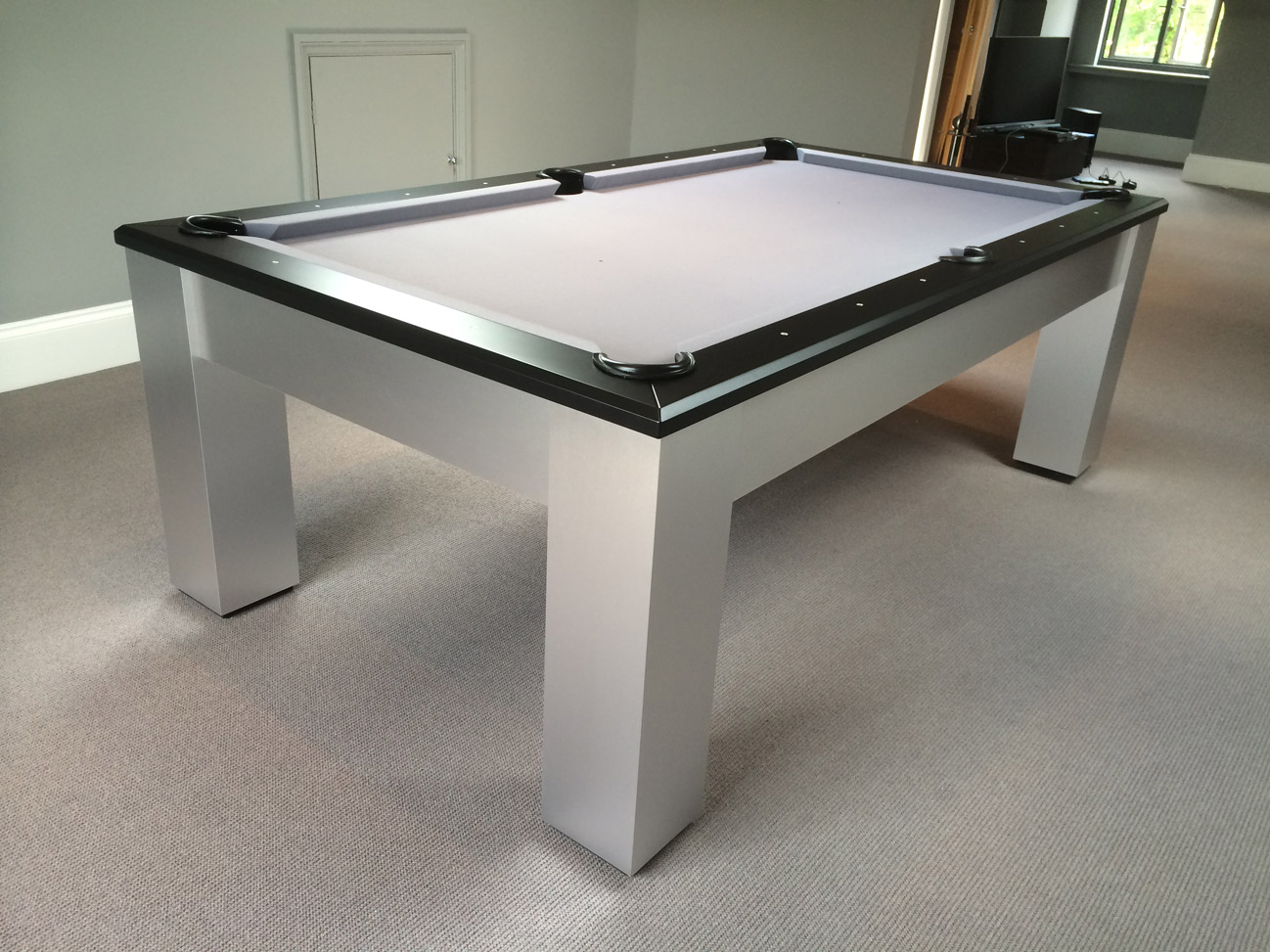 Olhausen madison modern bespoke american pool table - Billard table moderne ...