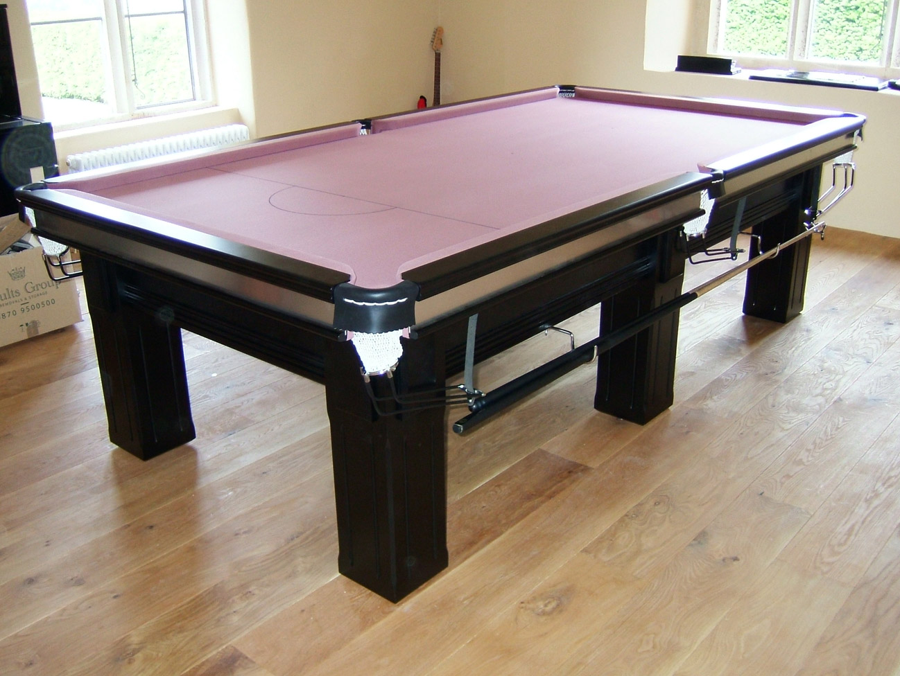 Connoisseur 9 X 4 6 Quot Snooker Table With Square Legs