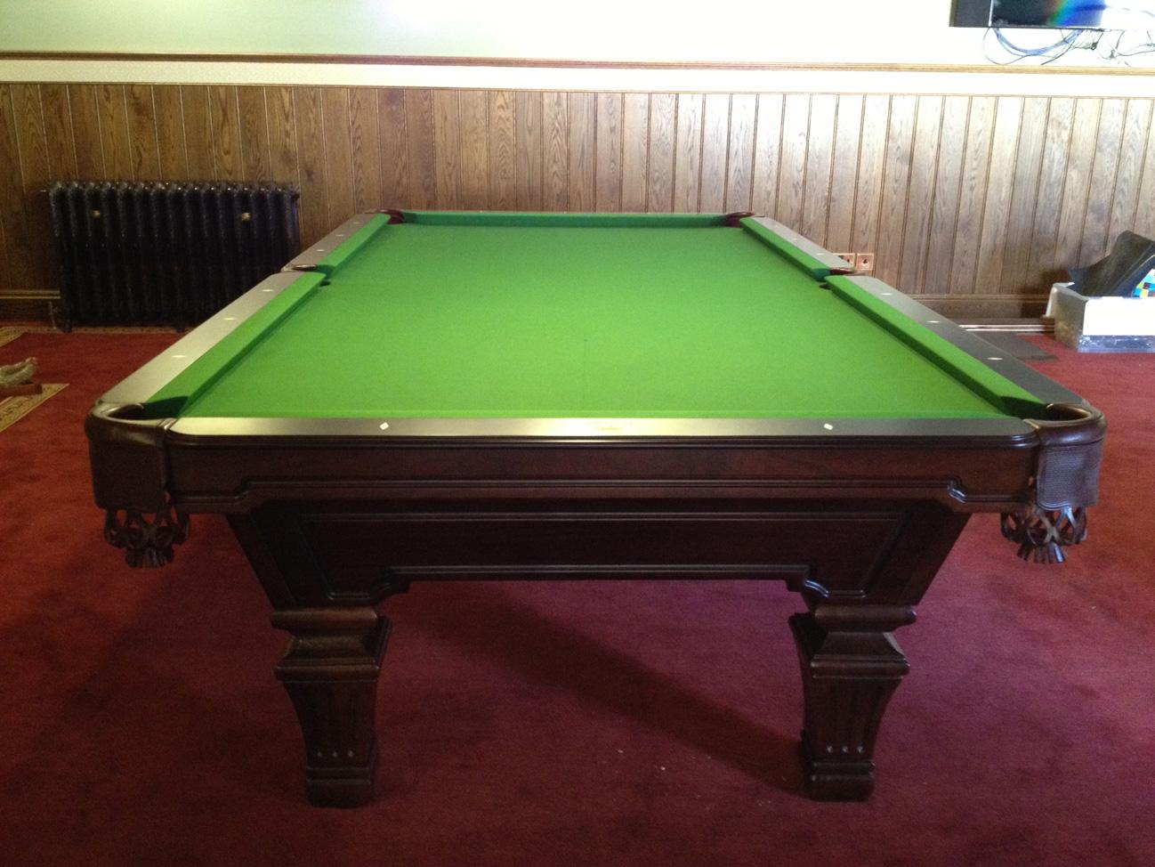 Olhausen Hampton Pool Table American Pool Table - Olhausen hampton pool table