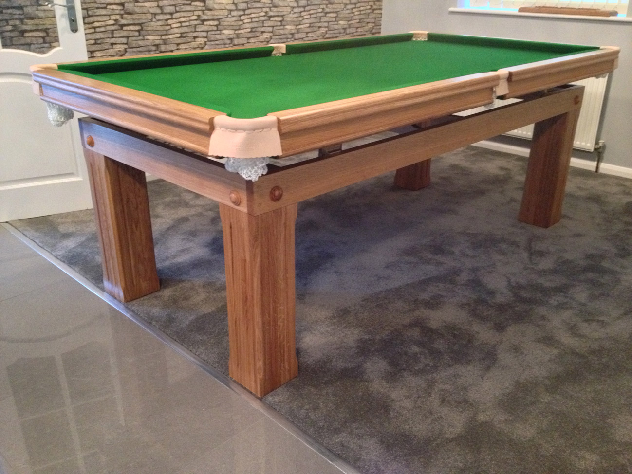 Dining Table Snooker Sold Edwardian Period 8 Foot