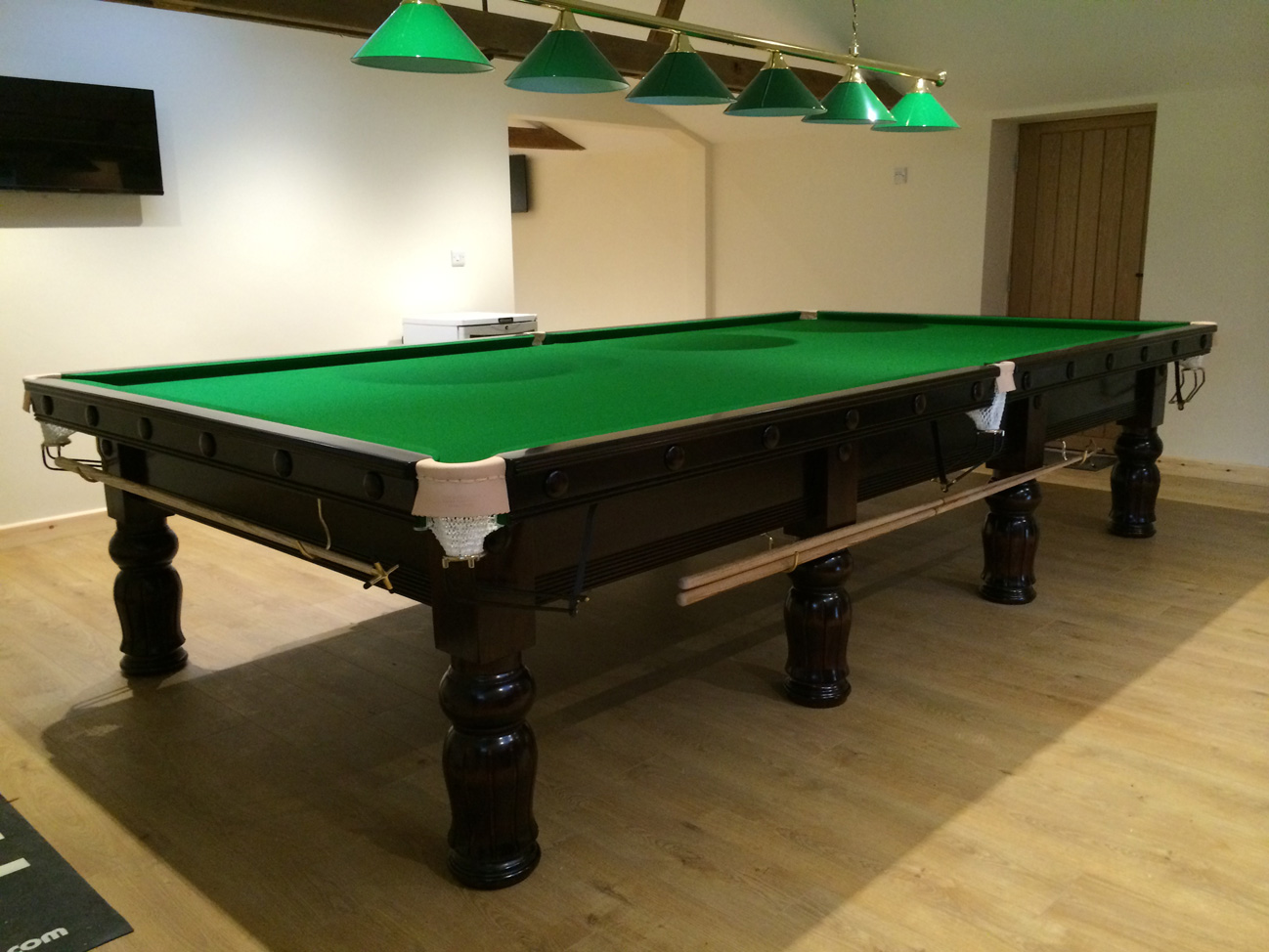 Full Size Refurbished Snooker Table amp Pool