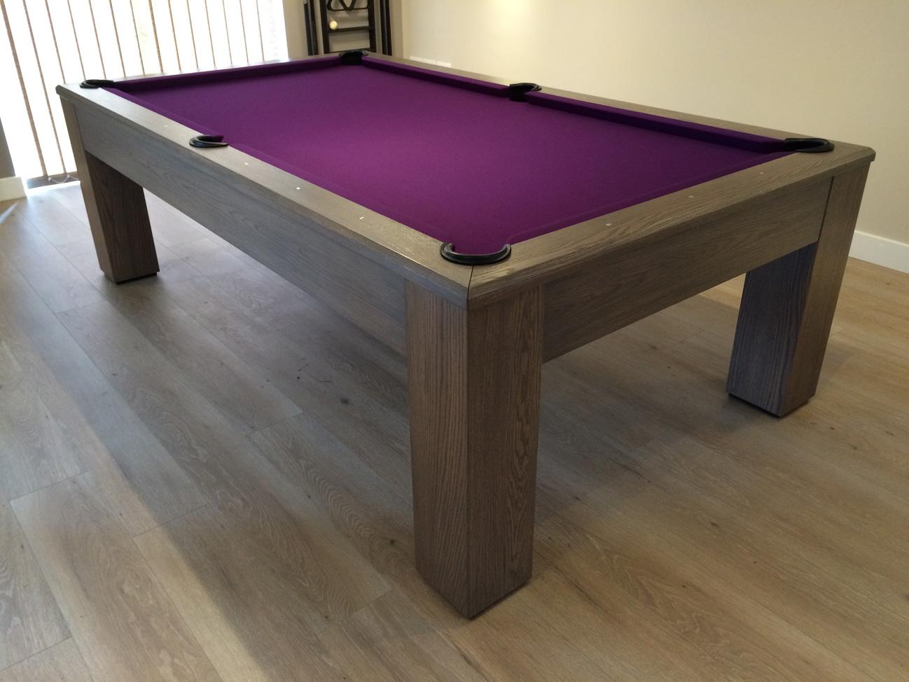 Olhausen Madison Ft Pool Table In Oak Modern American Pool Table - Olhausen madison pool table