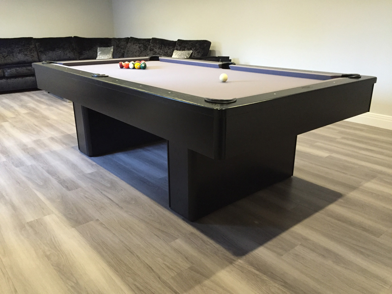 Modern Bespoke American Pool Tables Olhausen - Olhausen madison pool table