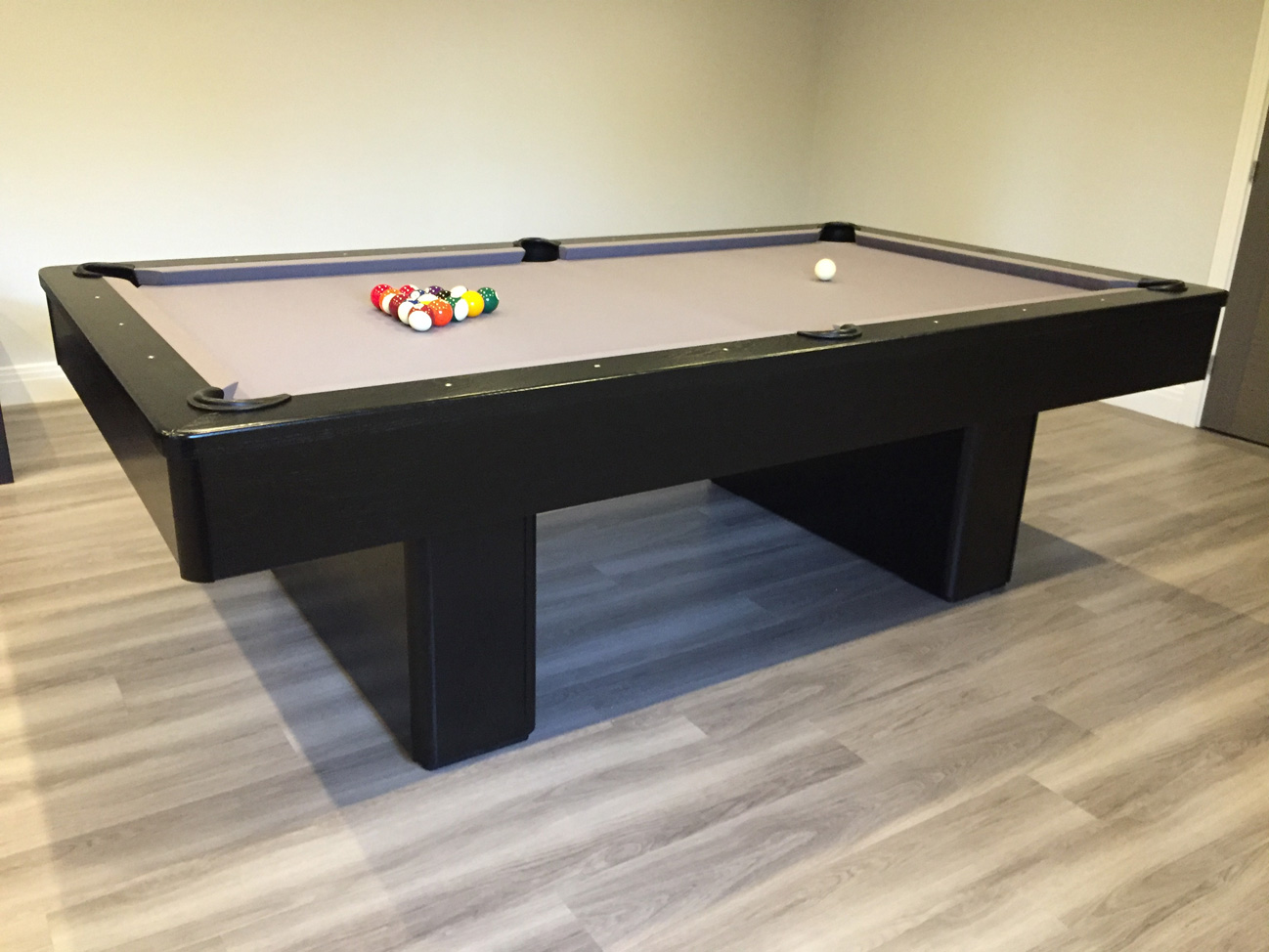 Olhausen Monarch In Black With Grey Cloth Snooker Amp Pool