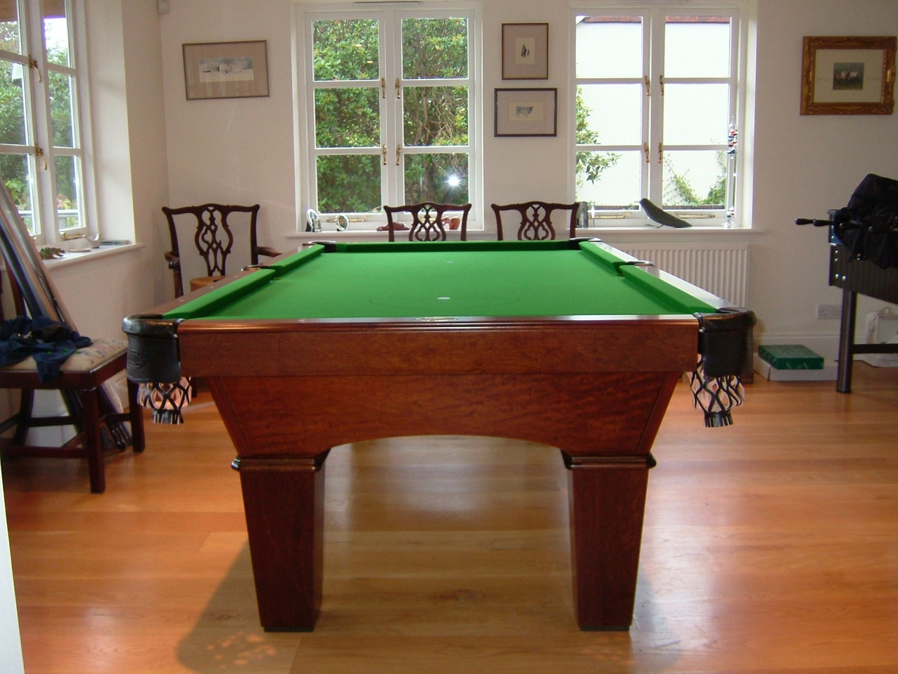 Olhausen Reno Pool Table In Traditional Finish American Pool Table - Reno pool table