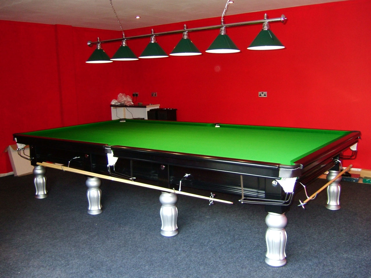 Connoisseur Table Two Tone Snooker Amp Pool