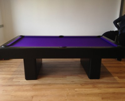 Olhausen Monarch Pool Table in Black