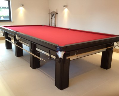 Connoisseur 12' x 6' Snooker Table with Square Legs