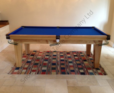 "Royal 7' x 3' 6"" Table with Tapered Legs"