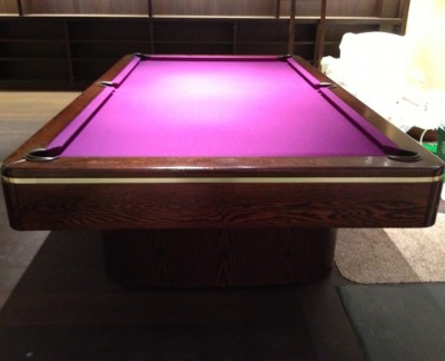 Olhausen Sahara Pool Table in Oak (Dark Stained Finish)