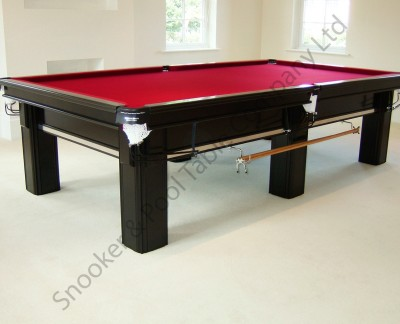 Connoisseur 10' x 5' Snooker Table with Square Legs