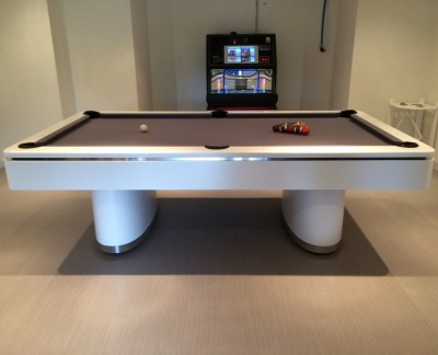Olhausen Sahara Pool Table in White
