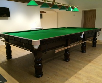 Full Size Refurbished Snooker Table