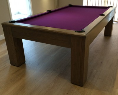Olhausen Madison 8ft Pool Table in Oak