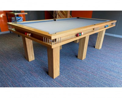 Gallery English Pool Table in Oak