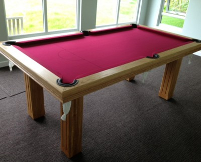Royal 7' x 4' Pool Table - Square Fluted Legs
