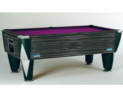 ZEBRANO 7ft Pool Table