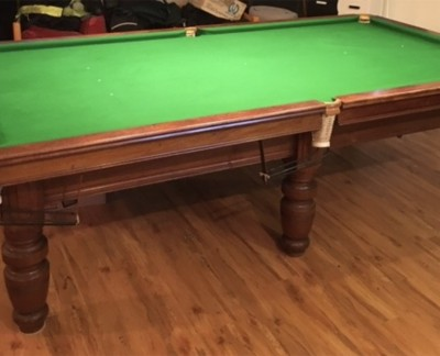 9ft RILEY CLUB - TURNED LEG Snooker Table