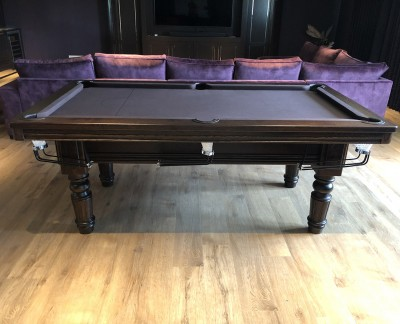 Royal Executive 7ft English Pool Table with all game rails