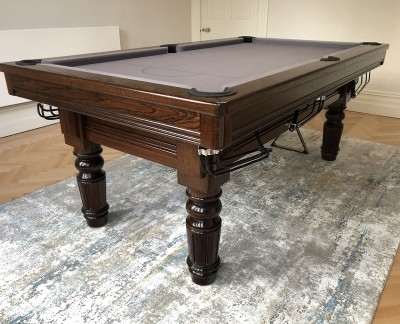Royal Executive English Pool Table with all game rails
