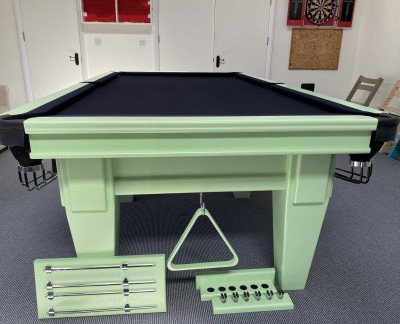 Connoisseur 8' x 4' Snooker Table with Full Tapered Legs