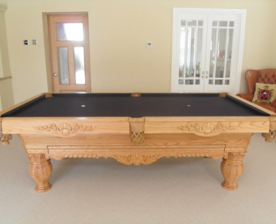 Olhausen St Andrews in Oak with Accessories Draw