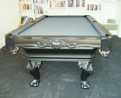 Olhausen St George Pool Table in Black Finish