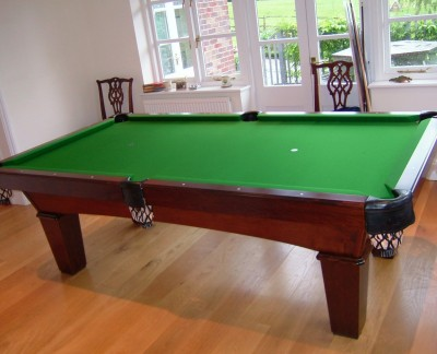 Olhausen Reno Pool Table in Traditional Finish