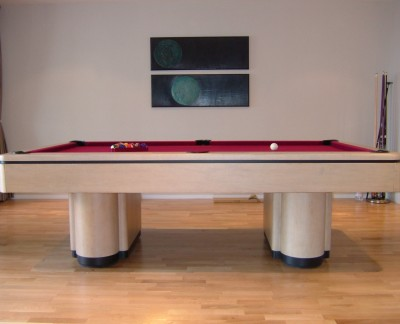 Olhausen Plaza Pool Table in Maple