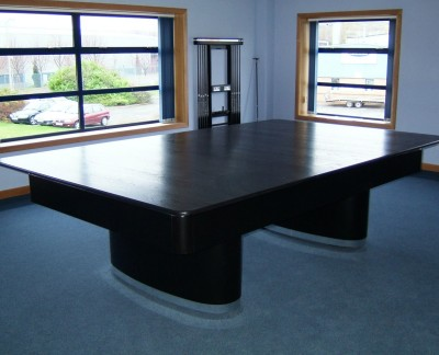 Olhausen Sahara Pool Table with Black Finish