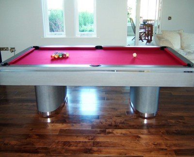 Olhausen Sahara Pool Table in Grey