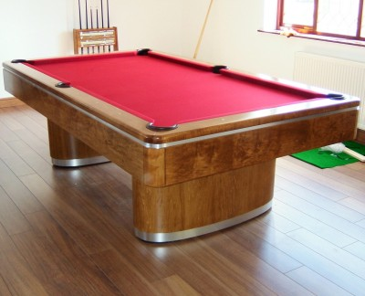 Olhausen Sahara Pool Table American Walnut Finish