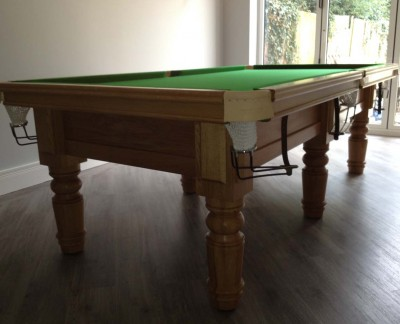 Royal Executive 8' x 4' Table with Straight Turned Legs