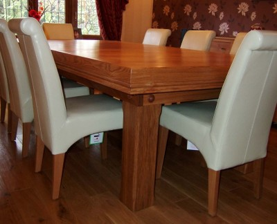 Snooker Dining Table - 7ft in Oak