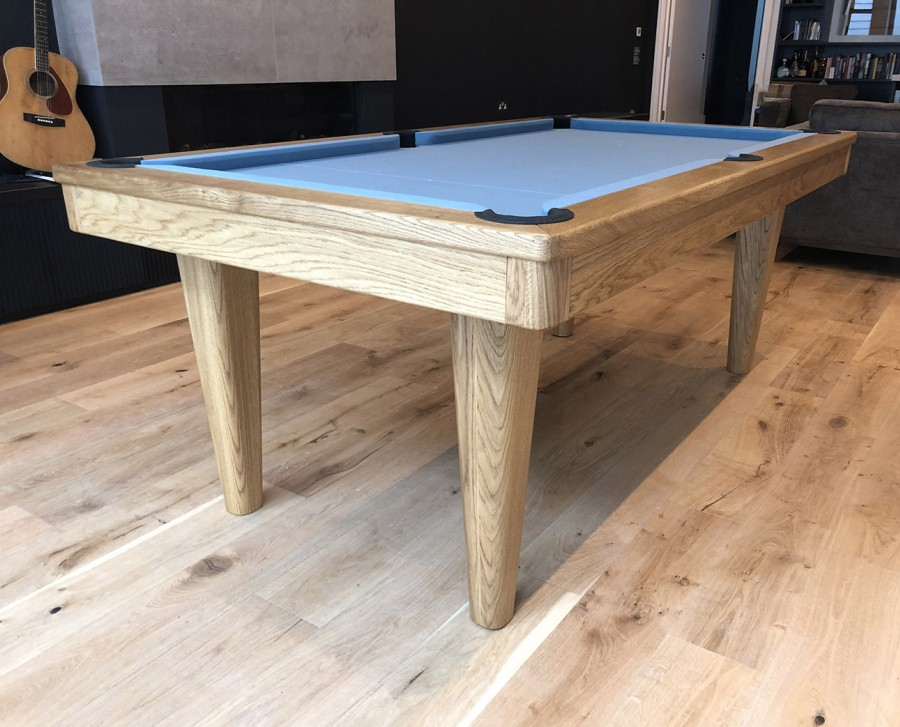 Royal English Pool Table - Full Tapered Legs