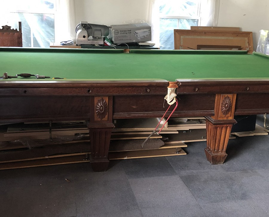 Full-Size BURROUGHS & WATTS Snooker Table