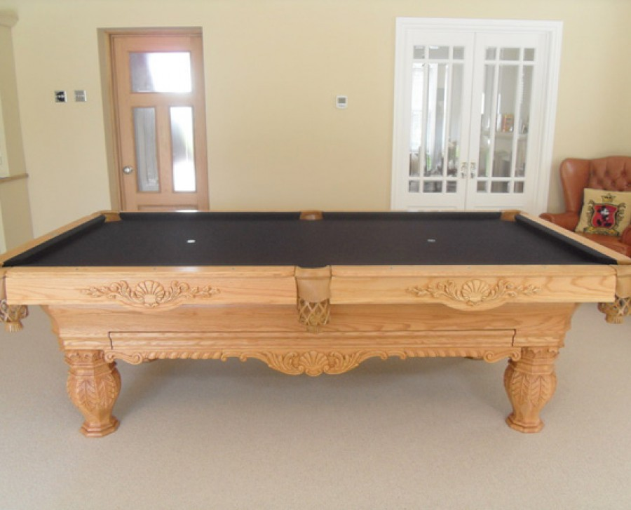 Olhausen St Andrews in Oak Pool Table with Accessories Draw