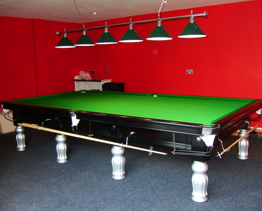 Connoisseur 12' x 6' Snooker Table Two Tone