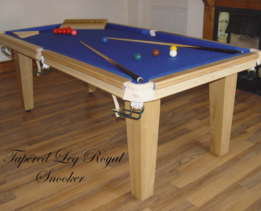 Royal 6 x 3' Table with Tapered Legs