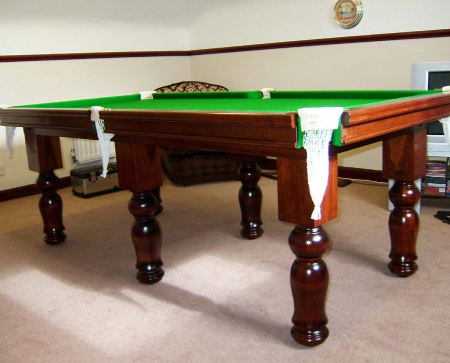 "Royal 7' x 3' 6"" Snooker Table with Tulip Legs"