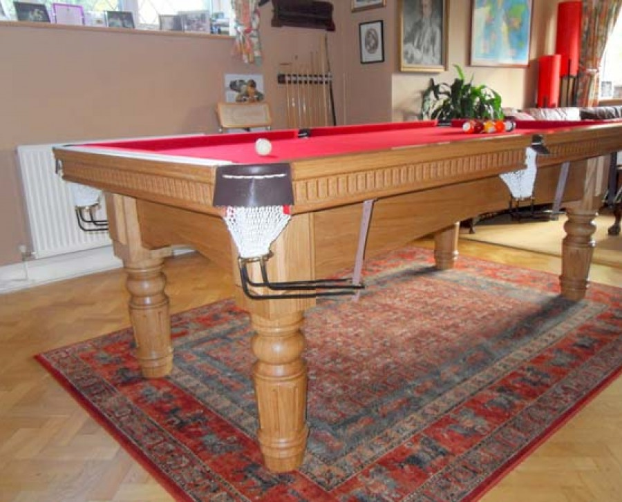 "Royal-Executive 7' x 3' 6"" Snooker Table with ST Fluted Legs"