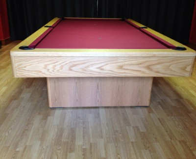 Olhausen Monarch Pool Table in Oak