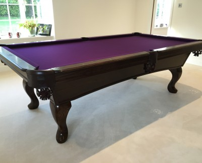 Olhausen Augusta Pool Table with Eclipse Leg