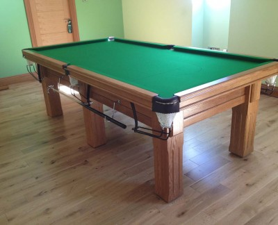 Royal Executive 8' x 4' Snooker Table - Square Fluted Legs